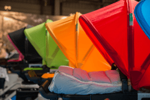 colourful-prams-with-hoods