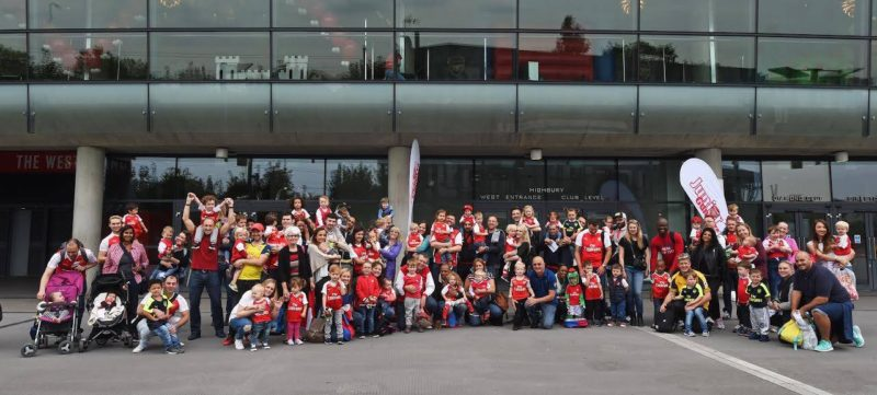 JUNIOR GUNNERS PLAY DAY 19/9/2016 at Emirates stadium