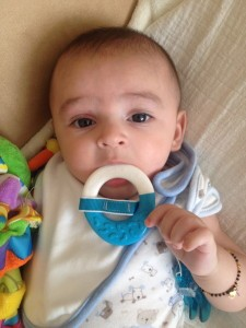 Jay and his teething ring