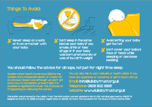 Things-to-avoid-The-Lullaby-Trust